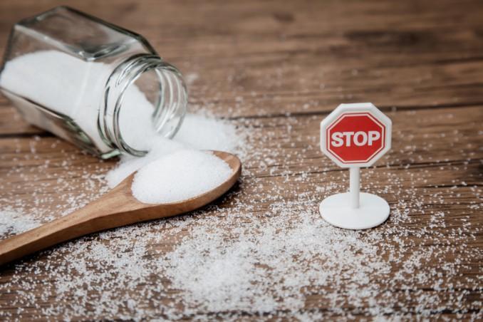 eliminare lo zucchero